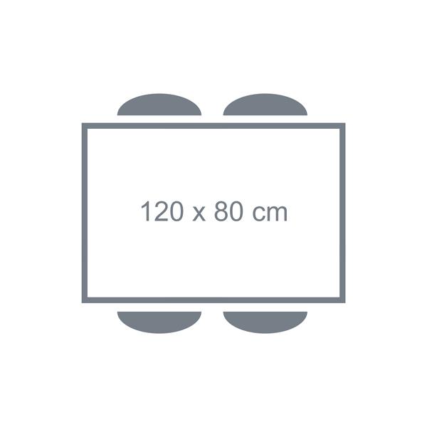 Tafel 120 x 80 cm